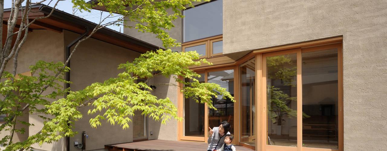 長野県長野市(中越の家): 藤松建築設計室が手掛けた現代のです。,モダン