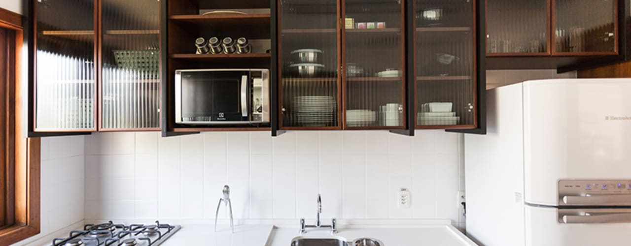 Ateliê 7 arquitetura e design integrados: endüstriyel tarz tarz Mutfak