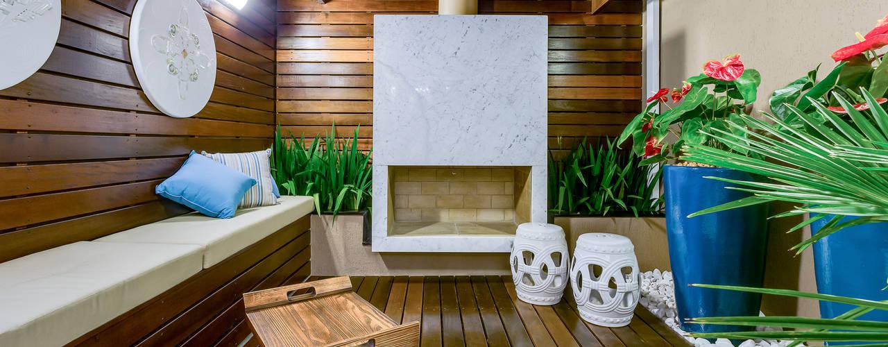 Dentro e Fora: Jardins de inverno  por Juliana Lahóz Arquitetura