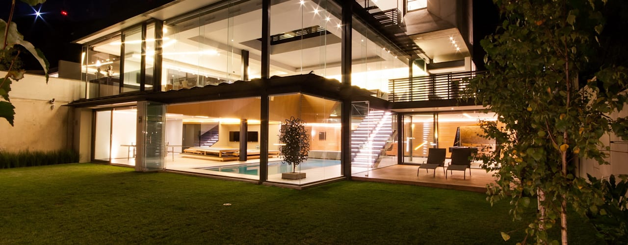 Concrete House Nowoczesne domy od Nico Van Der Meulen Architects Nowoczesny