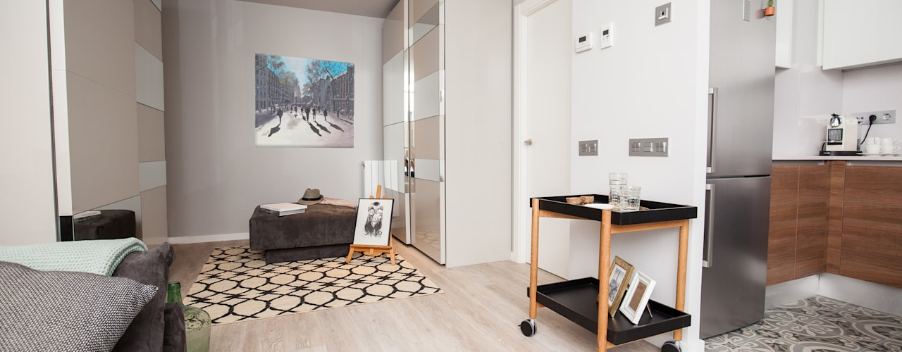 Dressing room by Pia Estudi, Mediterranean