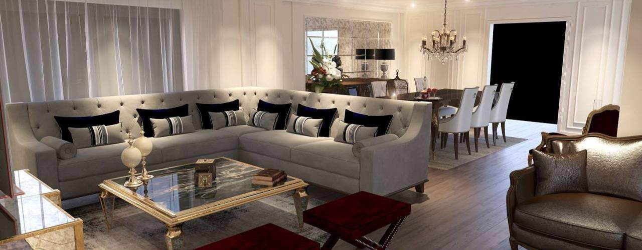 VERO CONCEPT MİMARLIK Modern living room