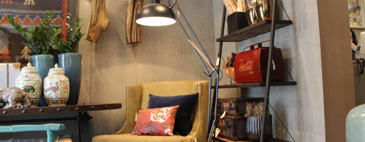 Projekty,  Salon zaprojektowane przez Amber Road - Design + Contract
