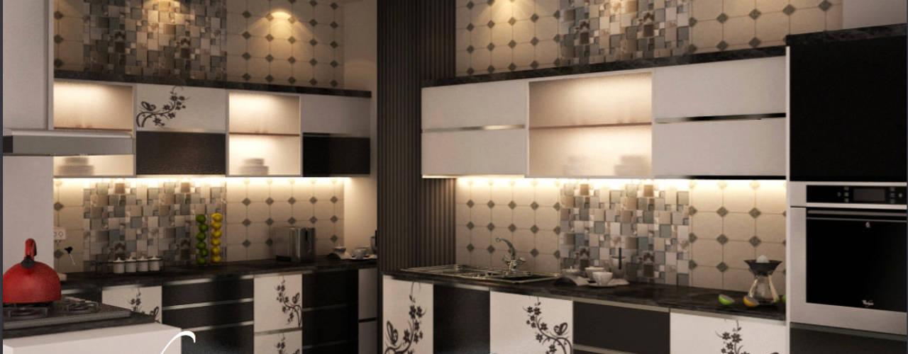 Projekty,  Kuchnia zaprojektowane przez Dzine Route
