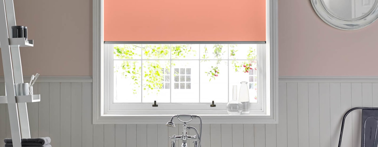 Summer Roller Blind Collection Baños modernos de Appeal Home Shading Moderno