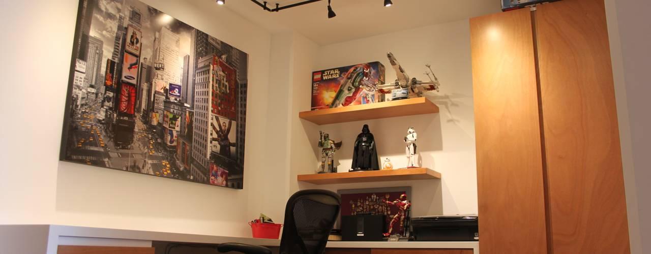 Estudios y despachos de estilo  por Home Reface - Diseño Interior CDMX