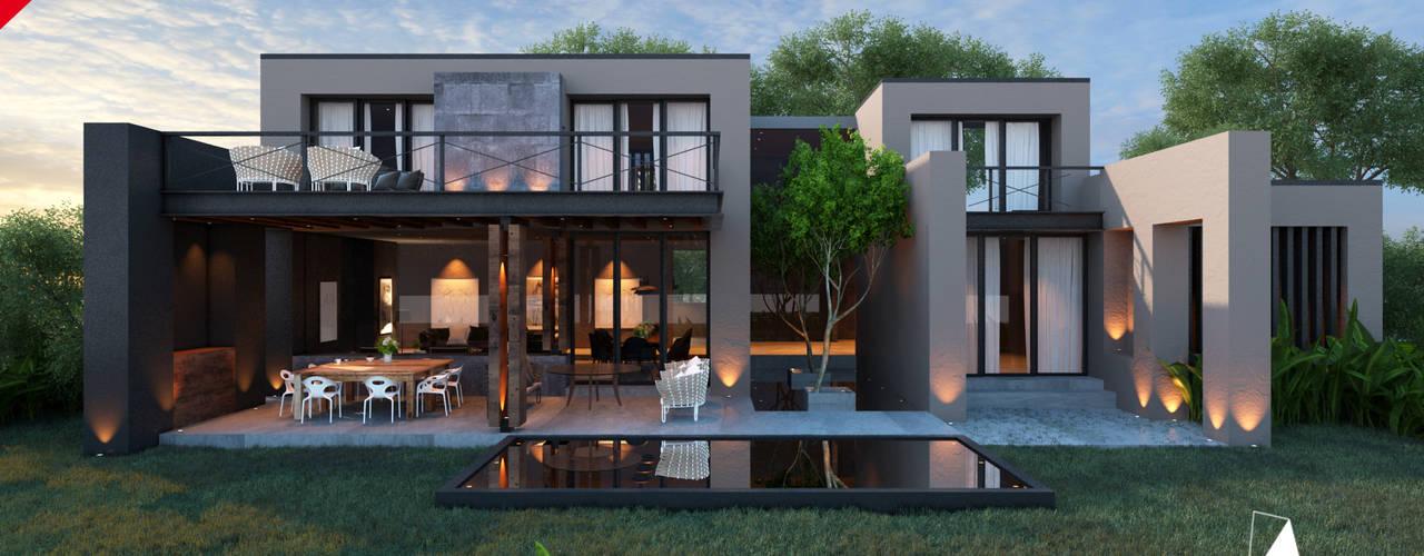 Дома в стиле модерн от Tectónico Модерн