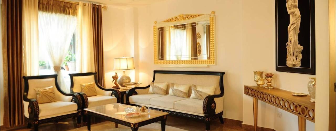 Гостиная в . Автор – QBOID DESIGN HOUSE
