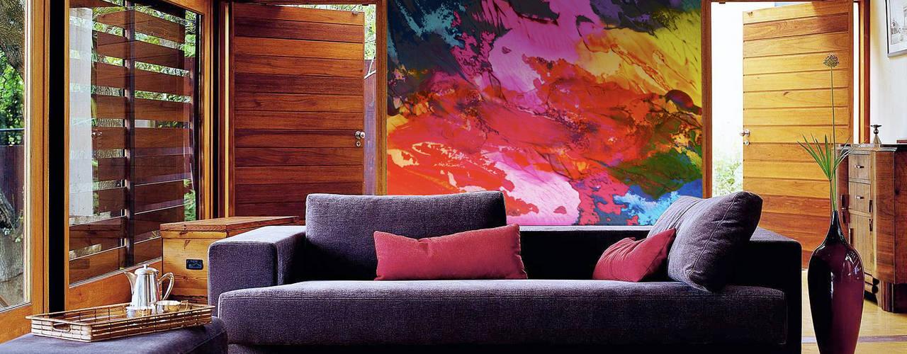 Living Room Salas modernas de Pixers Moderno