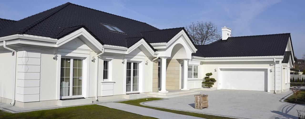 Rezydencja Parkowa Casas modernas: Ideas, diseños y decoración de MG Projekt Projekty Domów Moderno