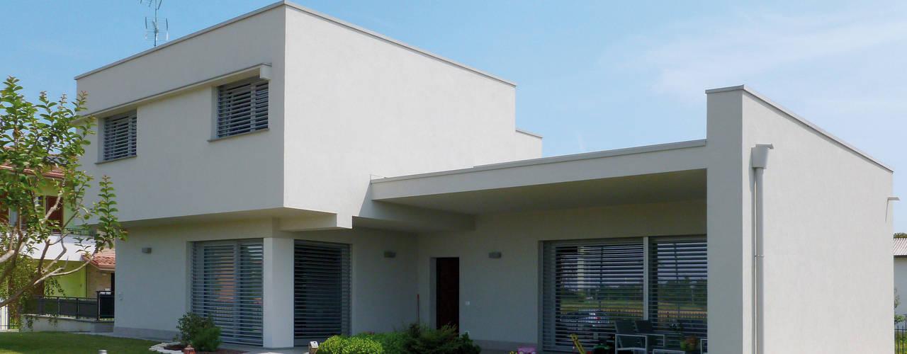 Дома в стиле модерн от Marlegno Модерн