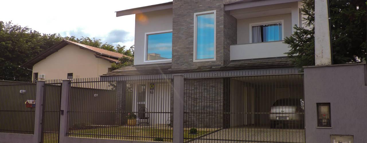 Moderne huizen van Cecyn Arquitetura + Design Modern