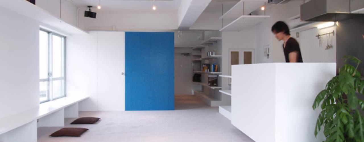 株式会社ブルースタジオ Soggiorno moderno