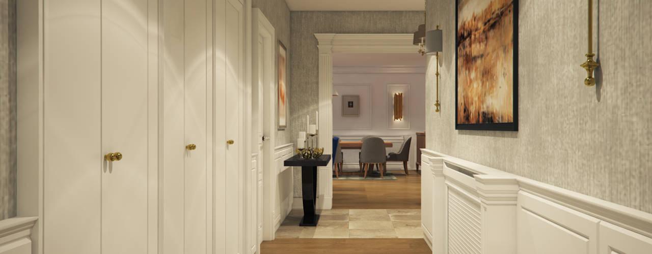 Moderner Flur, Diele & Treppenhaus von yücel partners Modern
