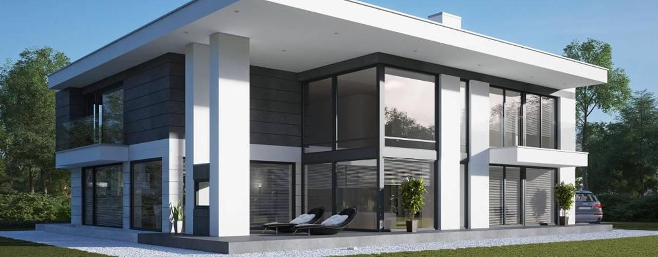 Maisons modernes par LK&Projekt GmbH Moderne