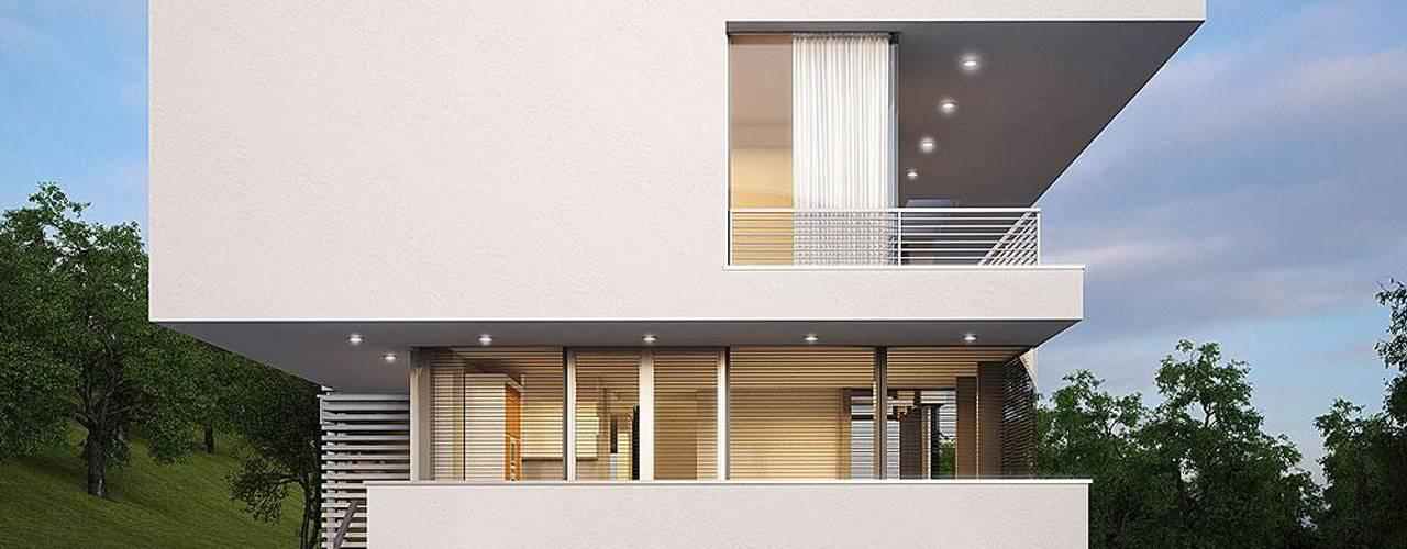 Moderne huizen van LK&Projekt GmbH Modern
