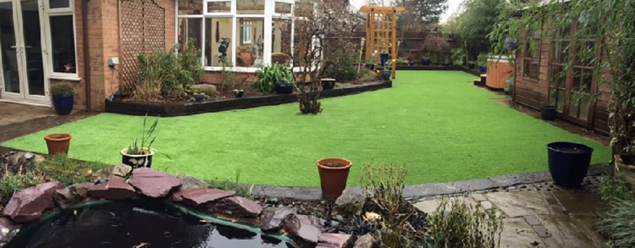 Artificial Grass Installation van Unreal Lawns