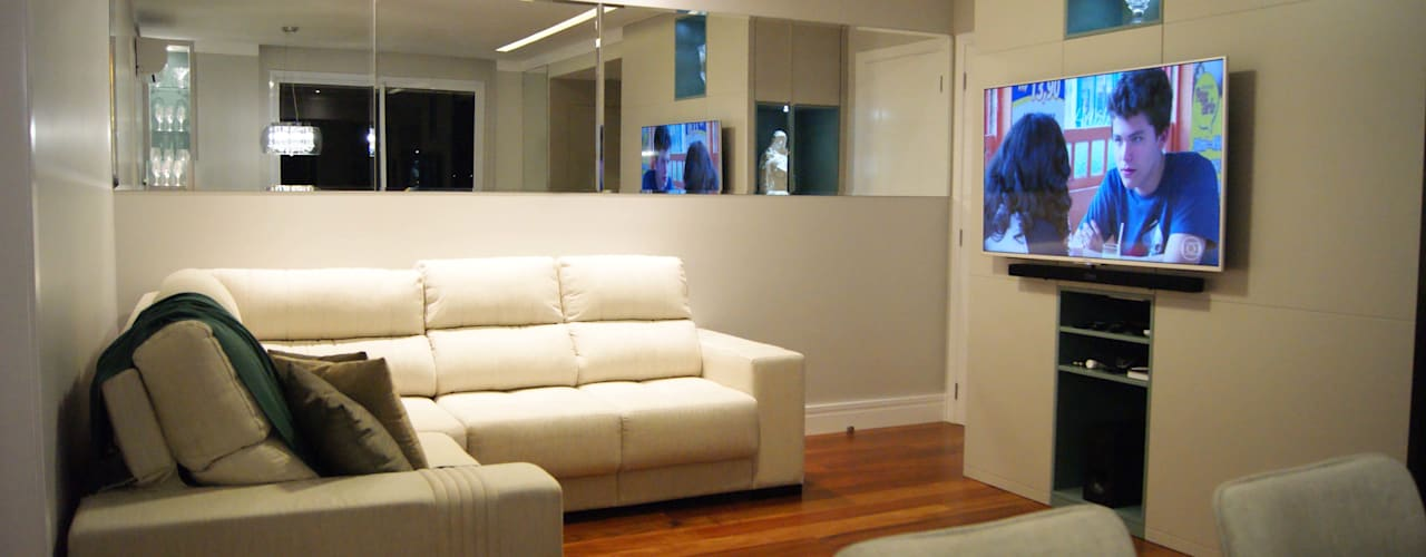 Modern Oturma Odası Lozí - Projeto e Obra Modern