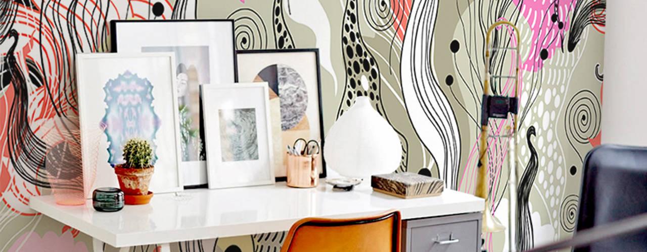 Study & office Oficinas de estilo moderno de Pixers Moderno