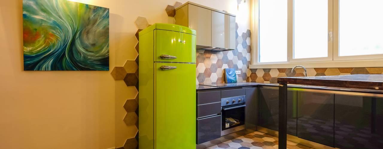 Cocinas de estilo  por Matteo Gattoni - Architetto, Ecléctico