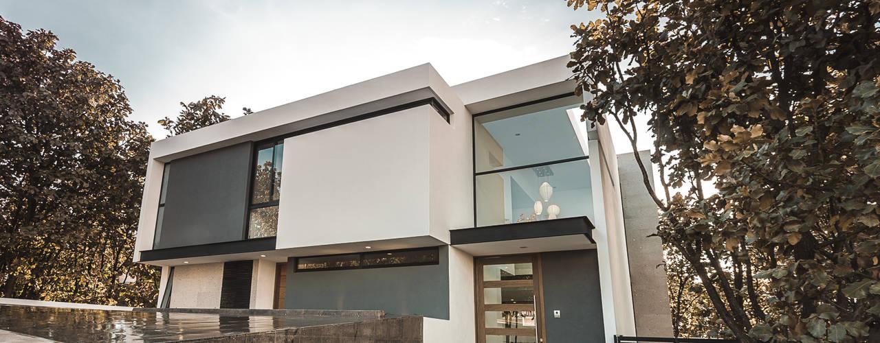 Bosques de Bugambilias Casas modernas de 2M Arquitectura Moderno