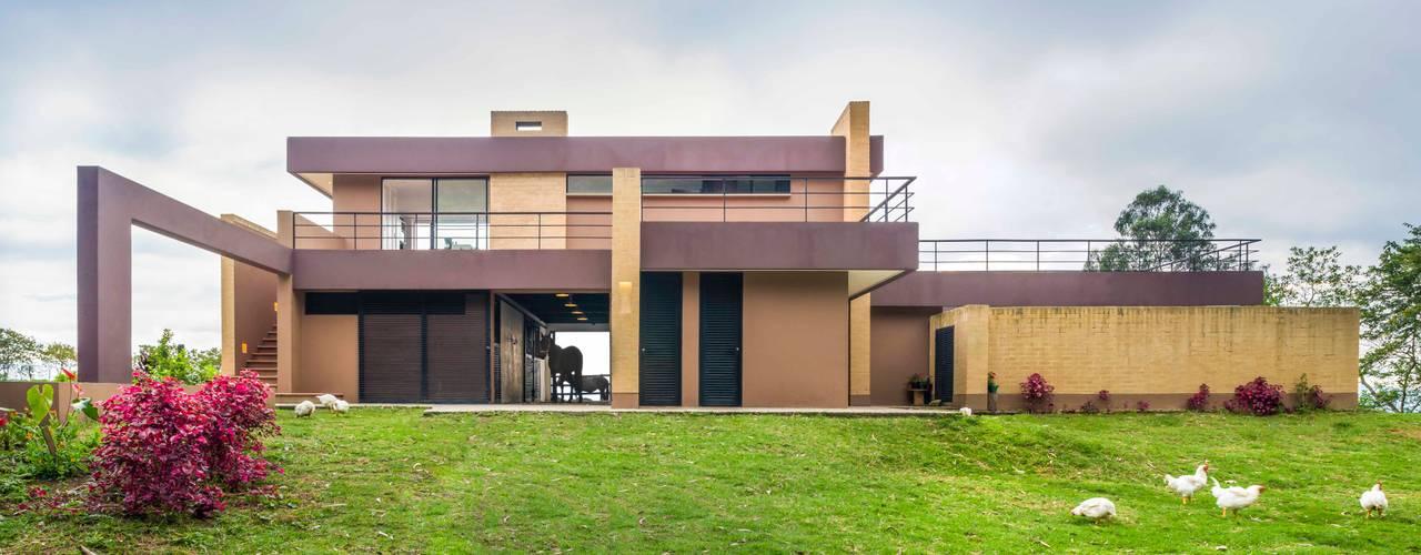 Casas de estilo  por David Macias Arquitectura & Urbanismo