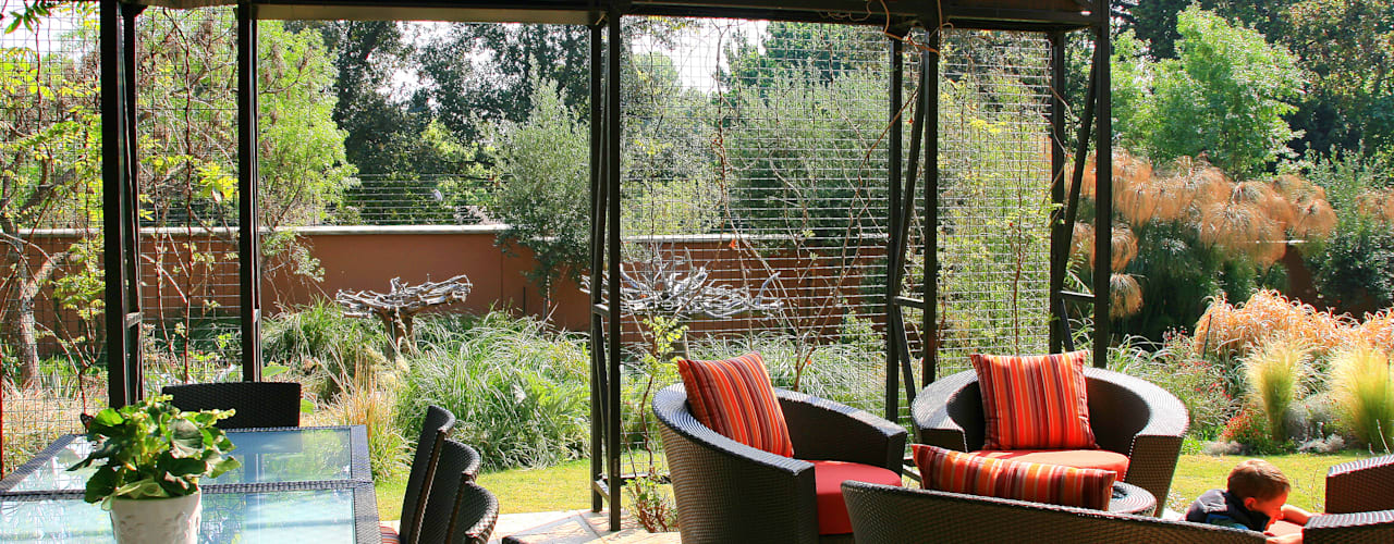 House Jones Eclectic style garden by Environment Response Architecture Eclectic