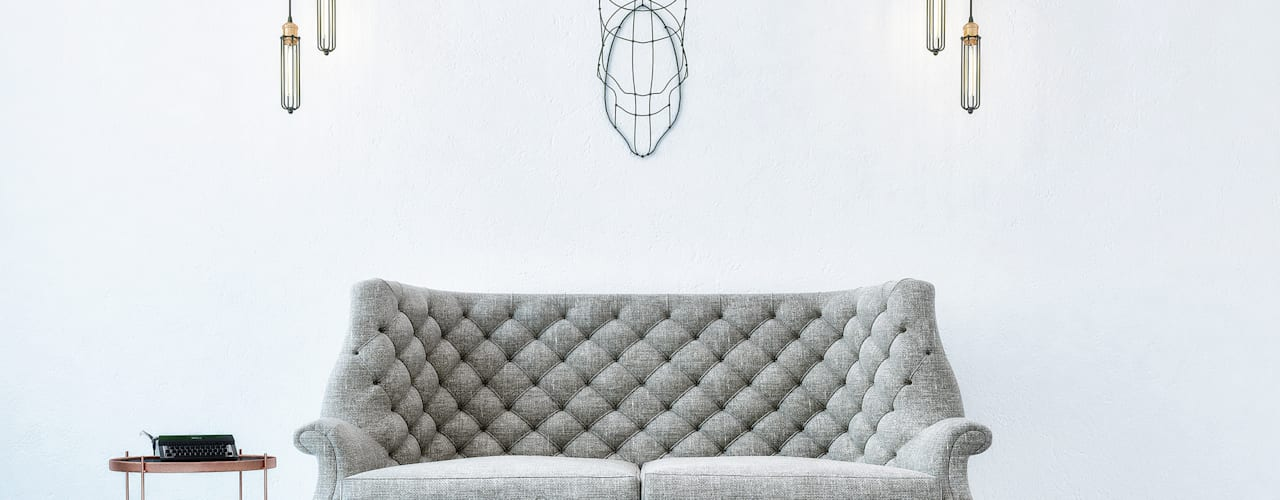 Penintdesign İç Mimarlık  – Telvin Livingroom:  tarz Oturma Odası