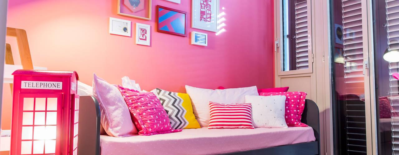 Interiorismo Piso Eixample Barcelonés Dormitorios infantiles de estilo moderno de Barbara Iensen Moderno