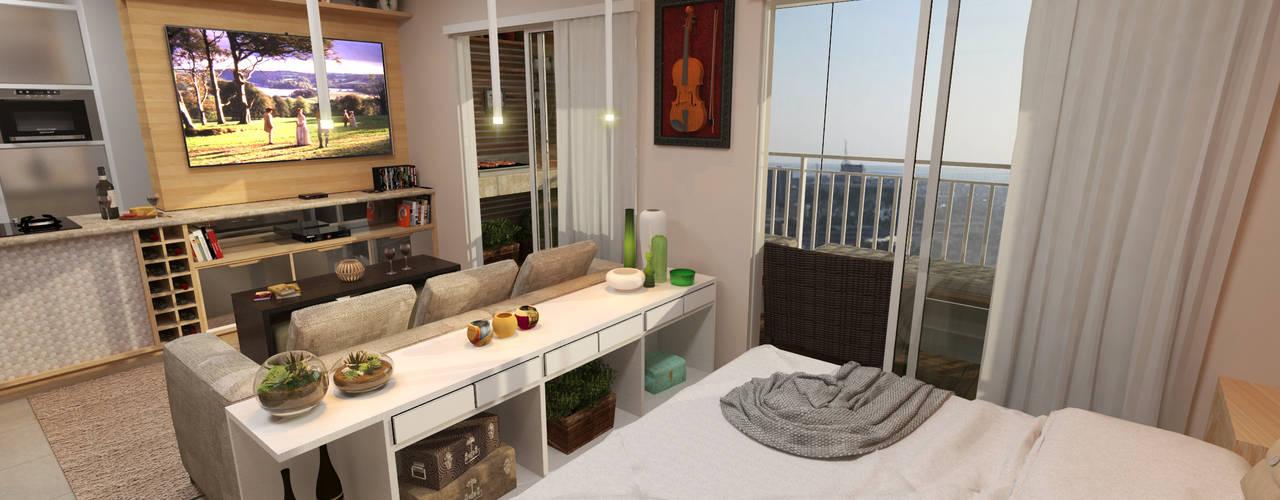 Bedroom by  Sotto Mayor Arquitetura e Urbanismo, Modern