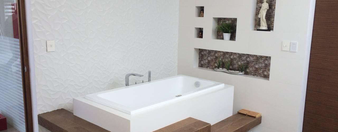 Tina: Baños de estilo  por AParquitectos