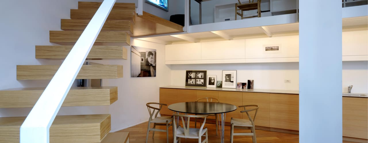 Loft - via Maiocchi - Milano: Ingresso & Corridoio in stile  di Fabio Azzolina Architetto
