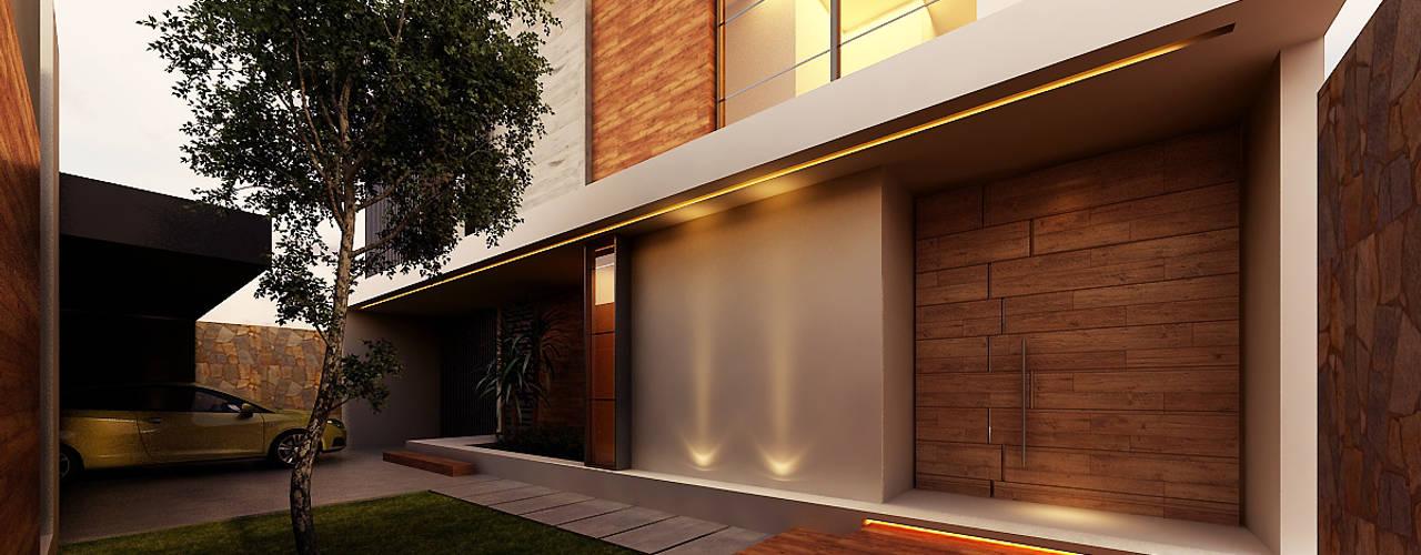 Besana Studio Maisons modernes Beige