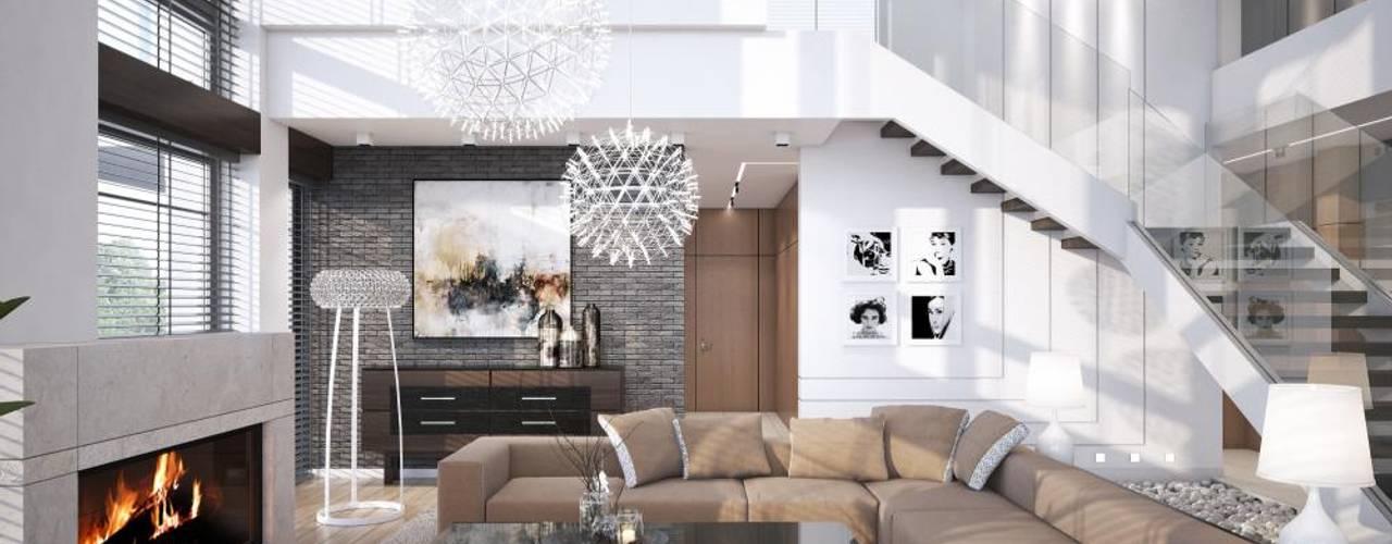 Salon moderne par LK&Projekt GmbH Moderne