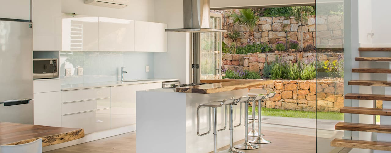 Projekty,  Kuchnia zaprojektowane przez MARVIN FARR ARCHITECTS