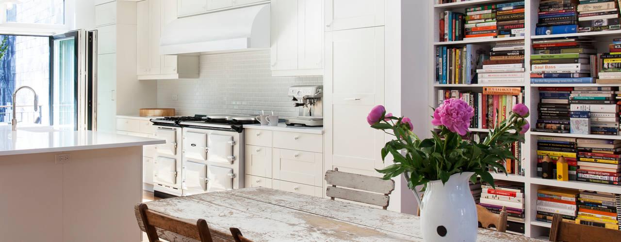 Brooklyn Brownstone Modern Kitchen by Lorraine Bonaventura Architect Modern