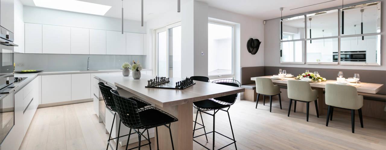 NOTTING HILL Cocinas modernas de Landmass London Moderno