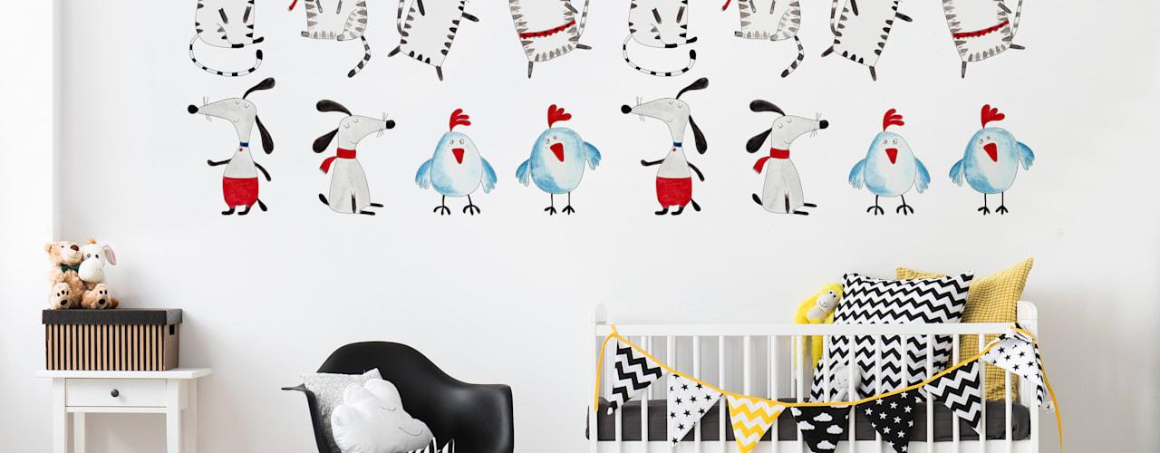 Nursery & kids room من Pixers تبسيطي