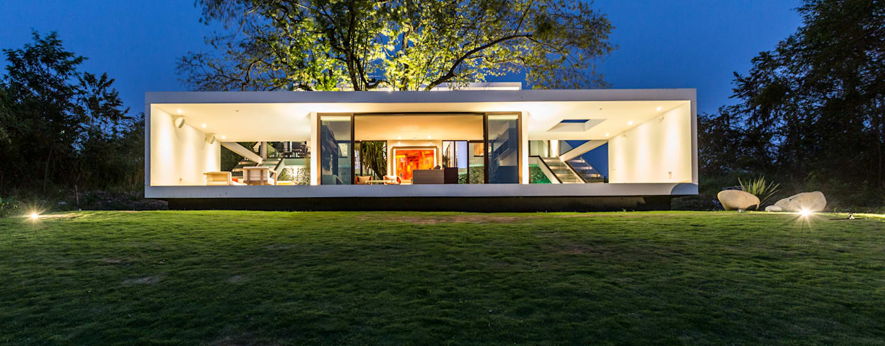 Casas minimalistas por Yucatan Green Design Minimalista
