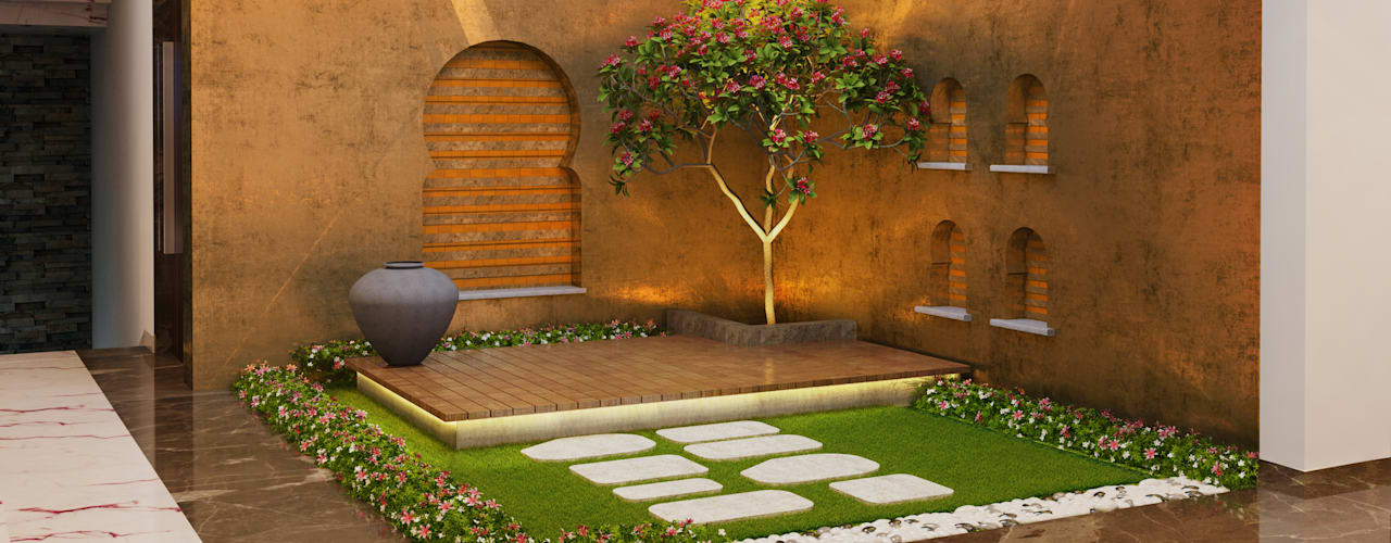 Jardines de estilo  por Space Craft Associates
