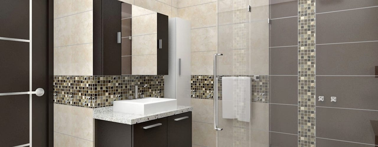 13 Tile Tips For Better Bathroom Tile: 6 Tips For Installing Large Tiles In A Small Bathroom