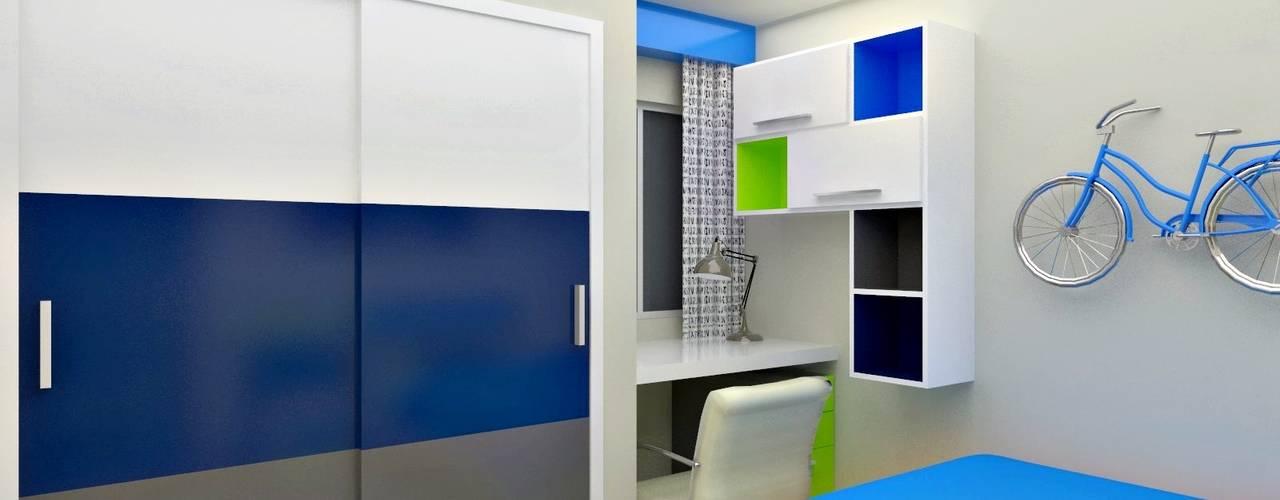 Habitaciones para niños de estilo moderno de om-a arquitectura y diseño Moderno