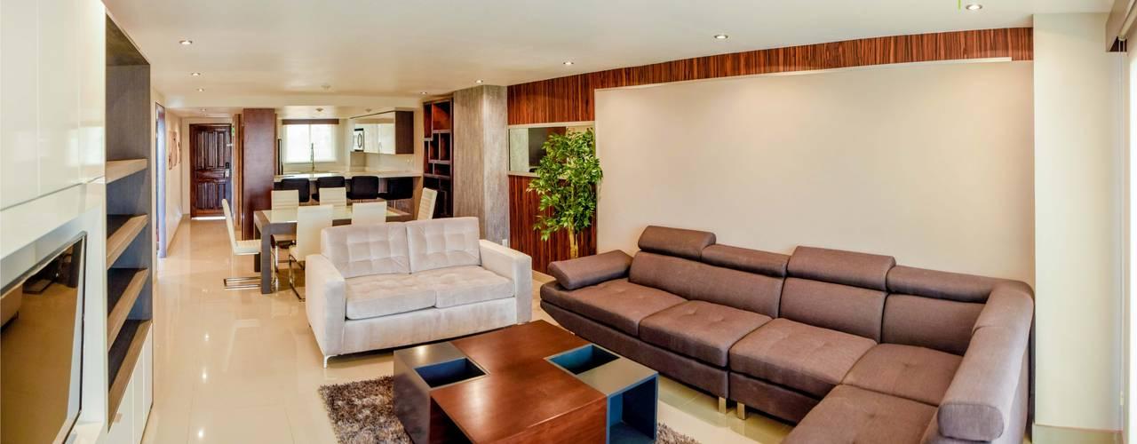 el interior:  tarz Oturma Odası