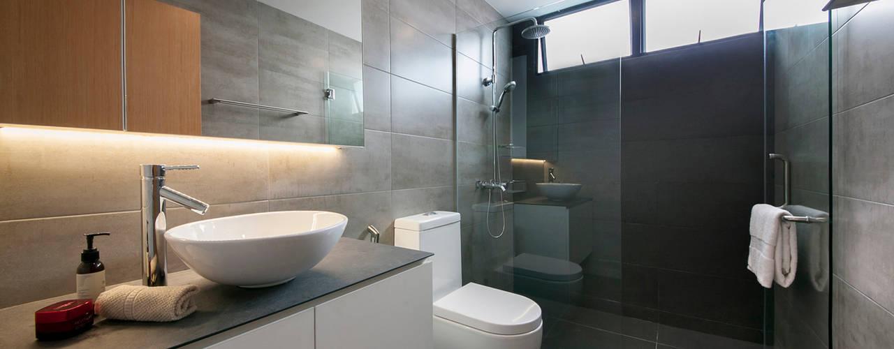 Salle de bains de style  par Eightytwo Pte Ltd