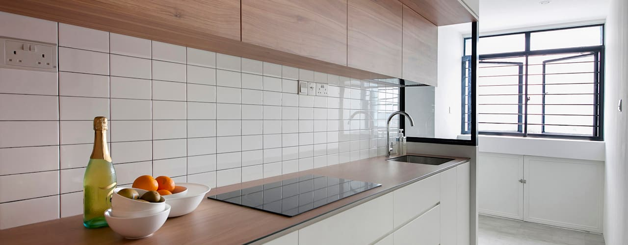 scandinavian Kitchen by Eightytwo Pte Ltd