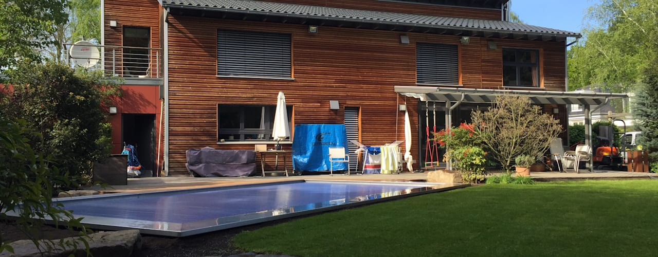 Hồ bơi phong cách hiện đại bởi Hesselbach GmbH Hiện đại