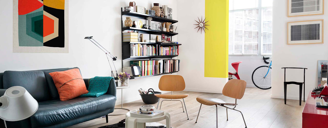 Scandinavian style living room by Egue y Seta Scandinavian