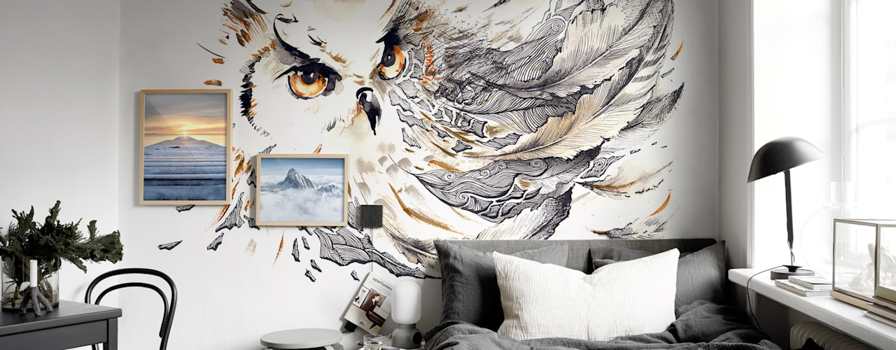 Projekty,  Sypialnia zaprojektowane przez Pixers
