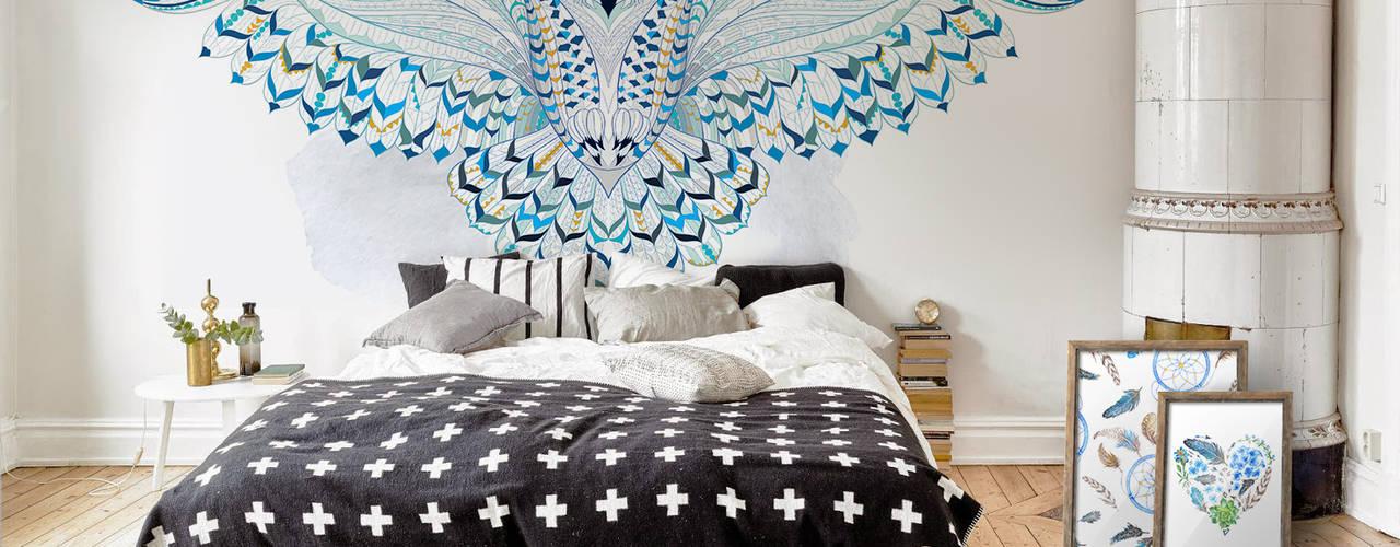 Bedroom Scandinavian style bedroom by Pixers Scandinavian