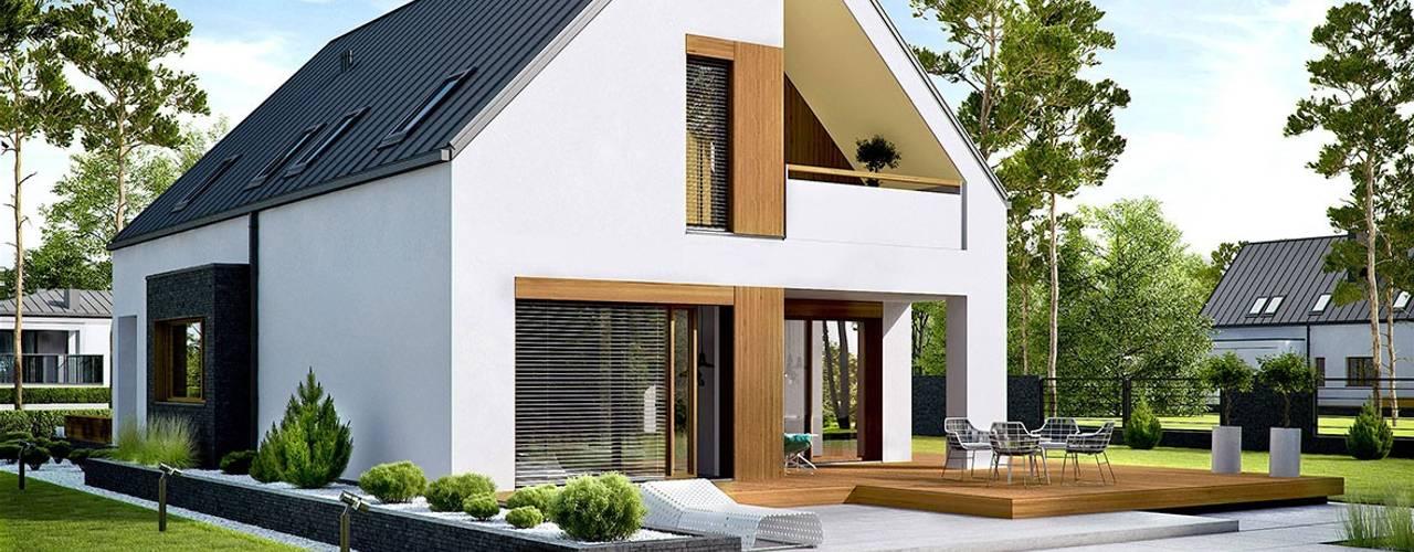 Top 10 geniale Einfamilienhäuser mit Satteldach CH89